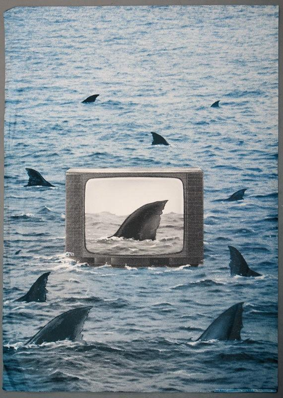 Poster made by Klaus Staeck commissioned by Talking Back to the Media, 1985.