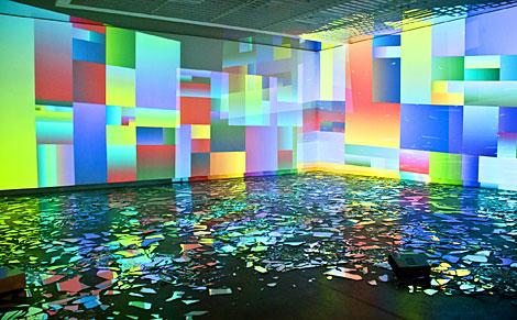 Rafaël Rozendaal, Into Time, Museu da Imagem e do Sol, Sao Paulo, 2012